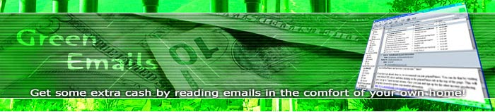 Green Emails - Get the Green for Reading Emails!